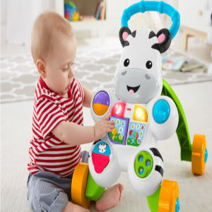 Fisher-Price Learn with Me Zebra Baby Walker toys
