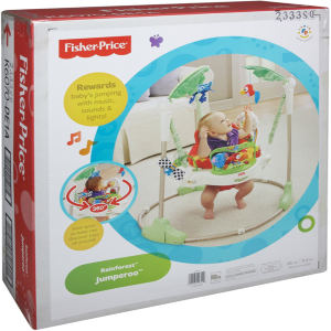 15cd324b9e07 Fisher-Price Rainforest Jumperoo Baby Jumper Review
