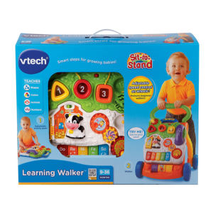 VTech Sit-to-Stand Learning Baby Walker box