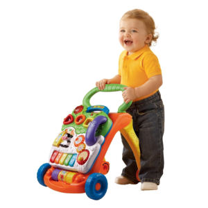 VTech Sit-to-Stand Learning Baby Walker side