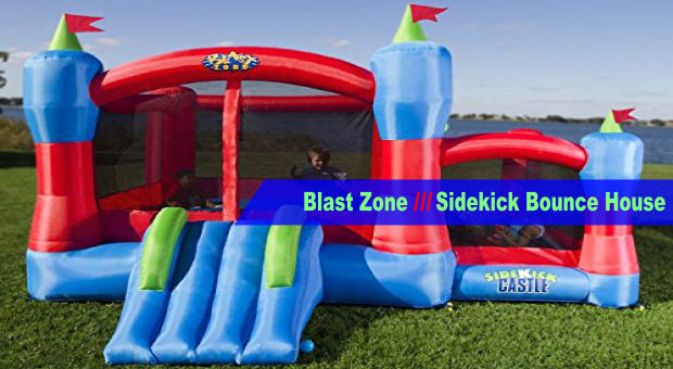 Blast Zone Sidekick Bounce House cover