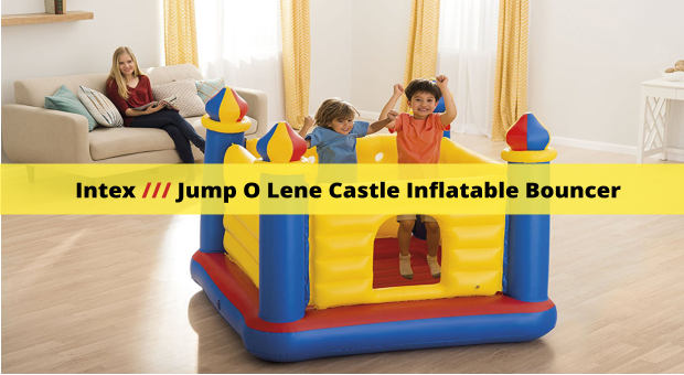 Intex Jump O Lene Castle Inflatable Bouncer cover