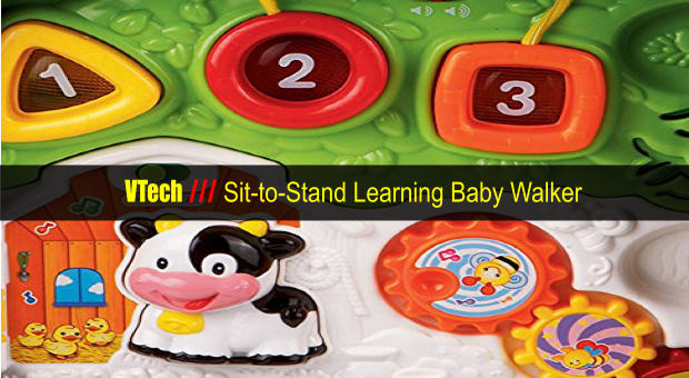VTech Sit-to-Stand Learning Baby Walker cover