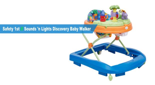 Safety 1st Sounds 'n Lights Discovery Baby Walker cover
